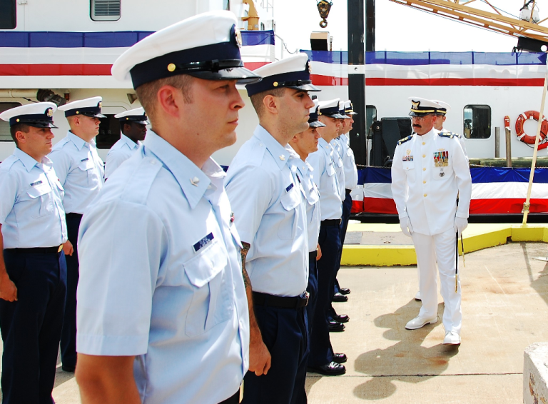 Coast Guard Tropical Blue Uniform 30