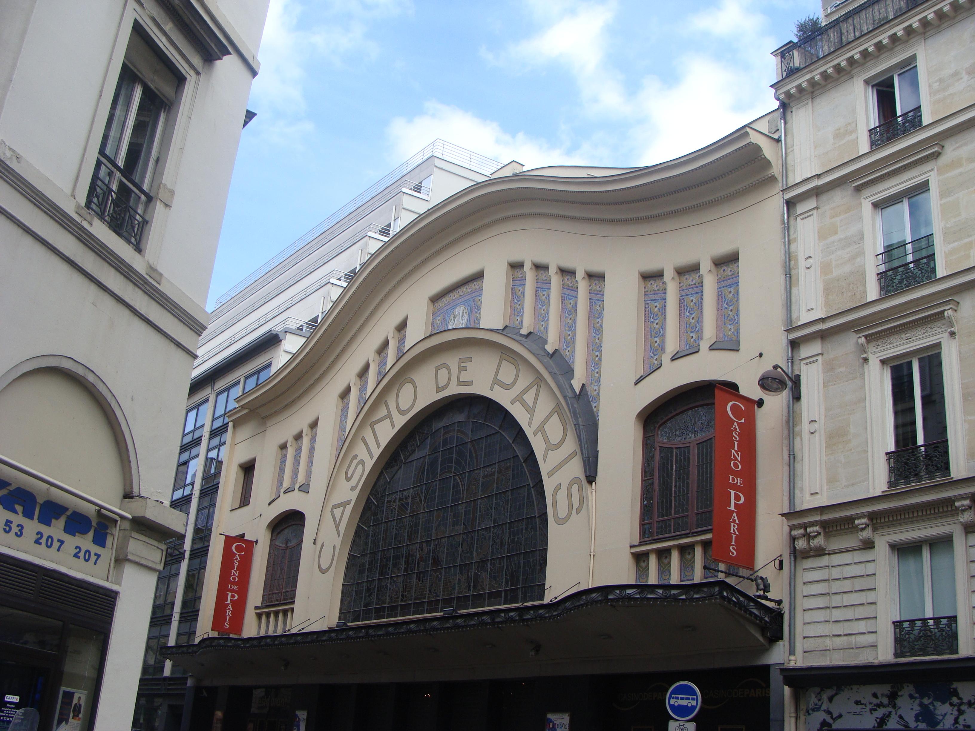 Casino De Paris Teatro Wikipedia