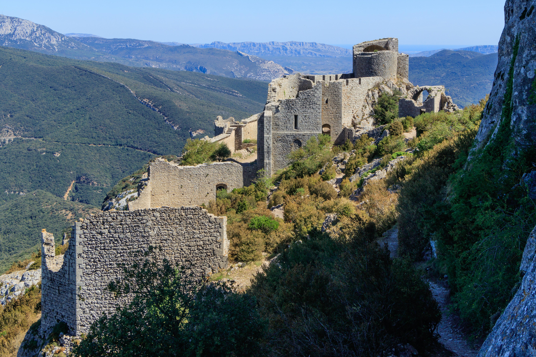 FileChâteaux du Pays cathare   Château de Peyrepertuse   20.jpg ...