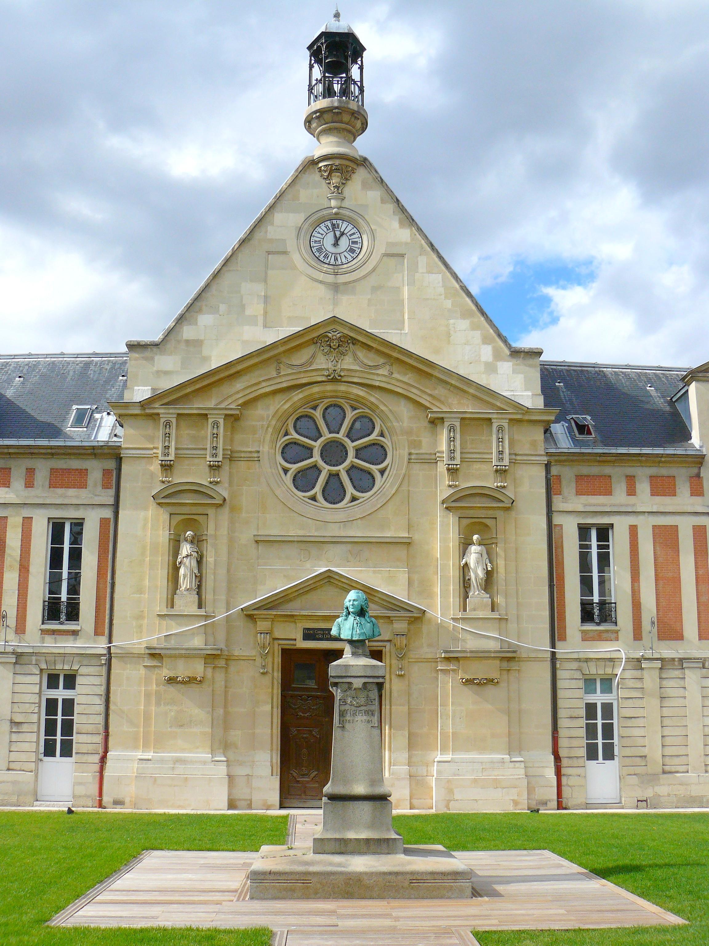 Fichier chapelle de l 39 ancien h pital laennec wikip dia - Hopital laennec paris 7 ...