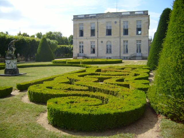 jardin de bouge le chateau