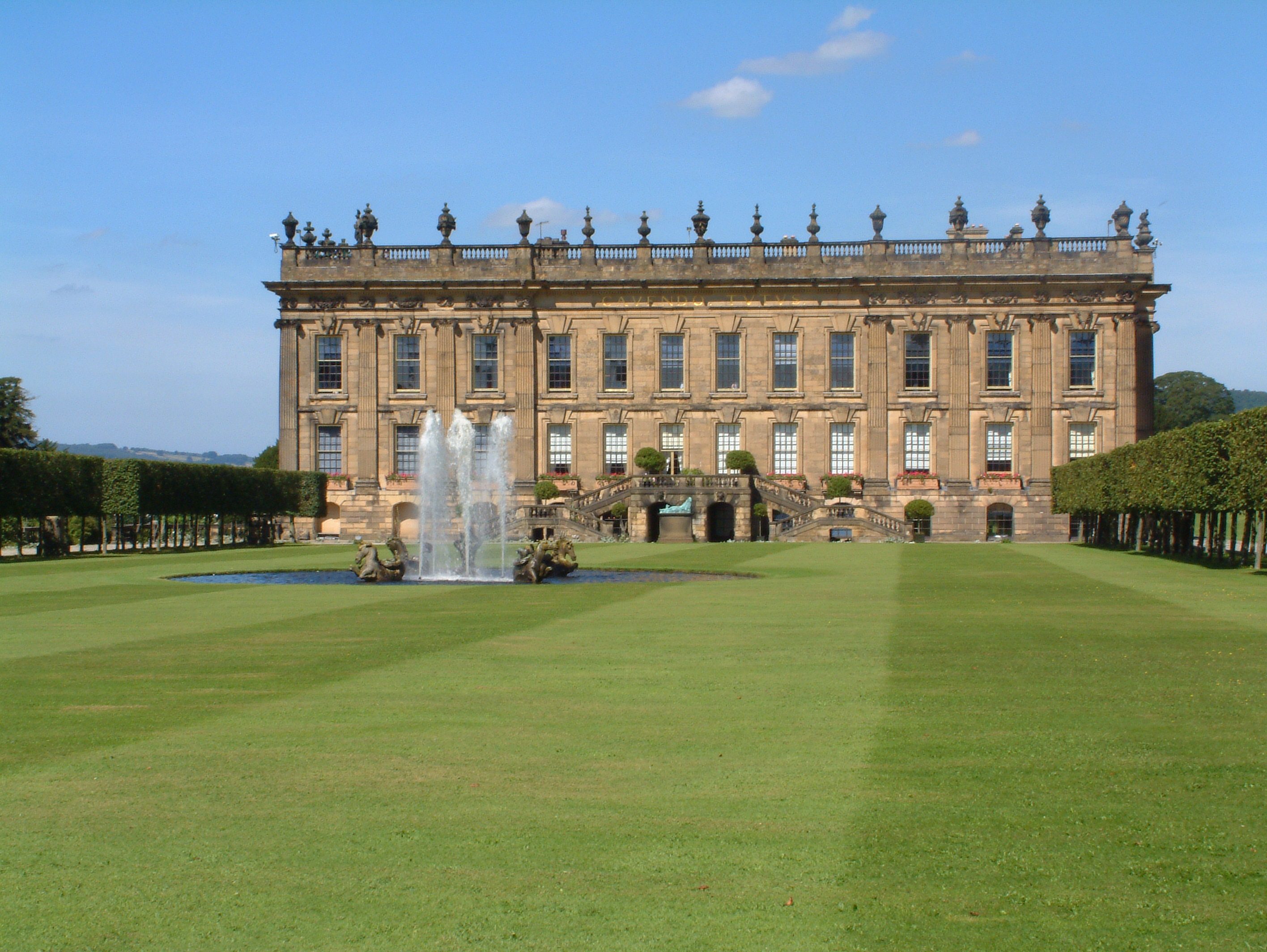 chatsworth house Chatsworth is a civil parish in derbyshire, england, within the area of the derbyshire dales and the peak district national park the population is largely in and.