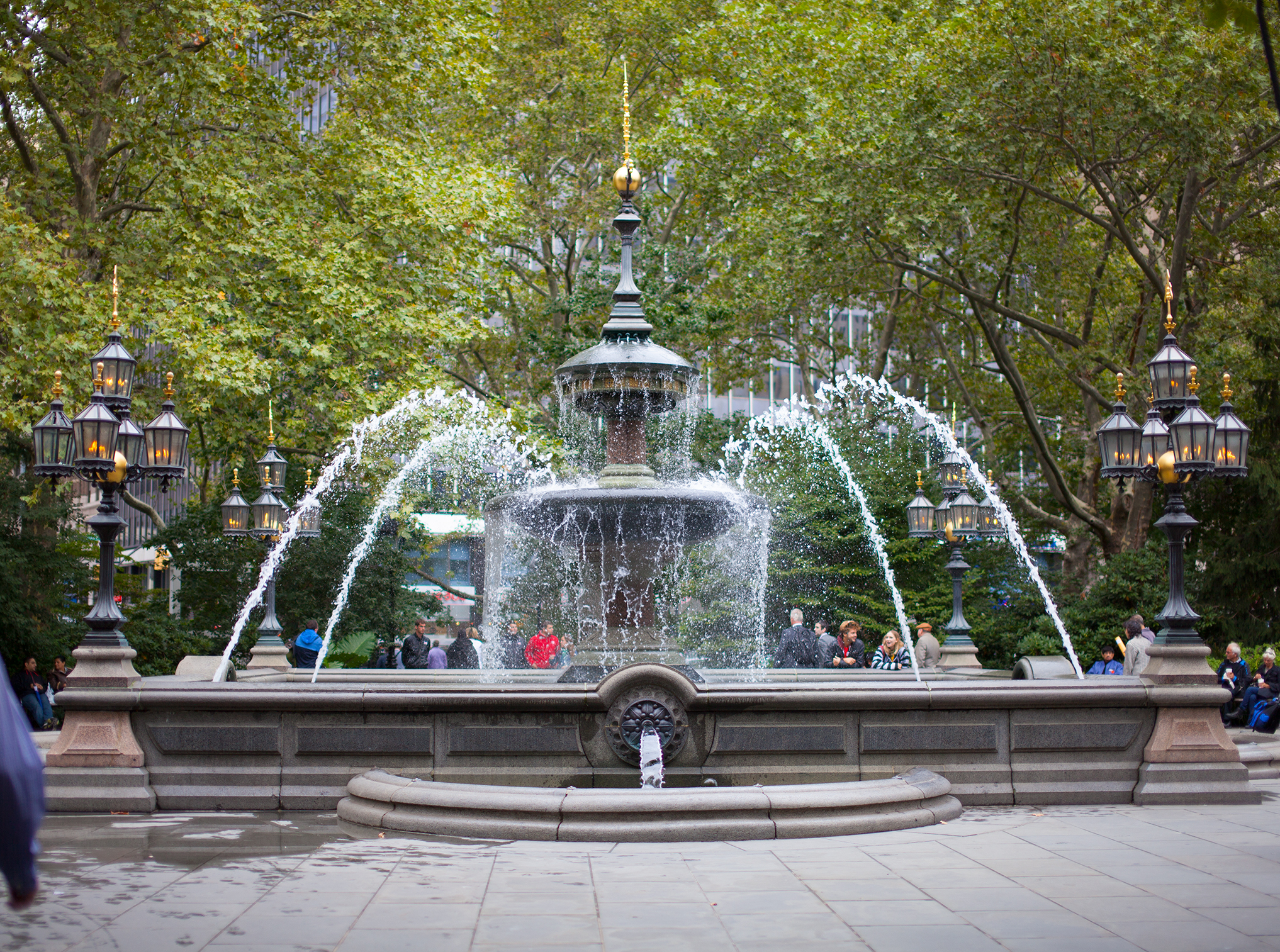 New York City Water Fountain