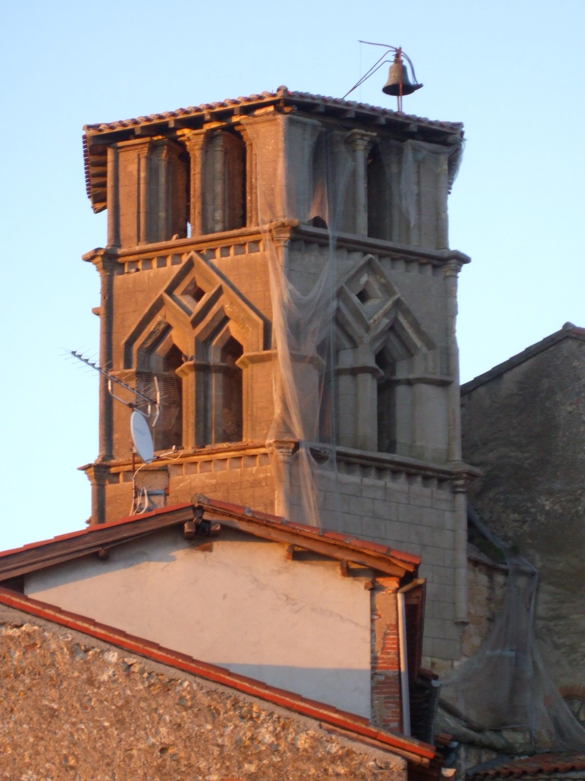 Narbonne Version 3 1: File:Clocher De L'église De Saint-Ybars 2.jpg
