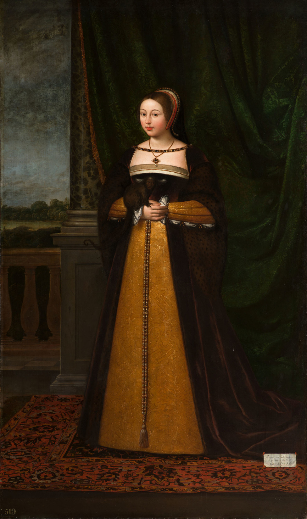 Daniel_Mytens_(c._1590-1647)_-_Margaret_Tudor,_Queen_of_Scotland_(1489-1541)_-_RCIN_401181_-_Royal_Collection.jpg (976×1650)