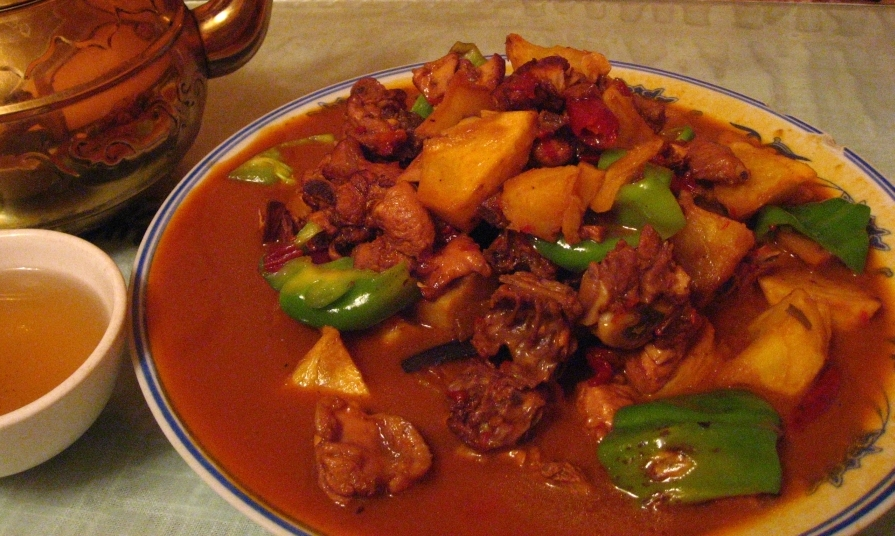 File dapanji for Asian cuisine history