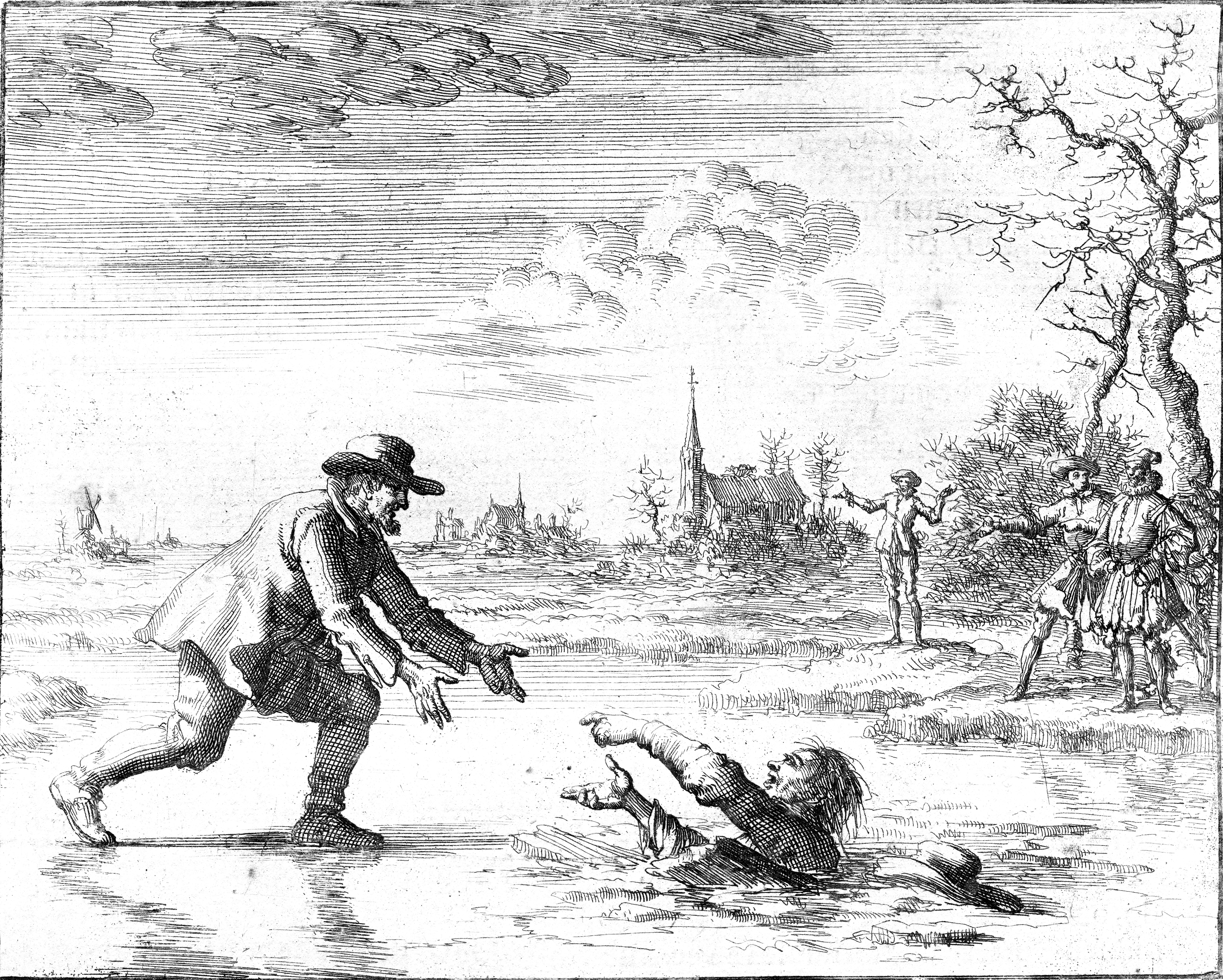 Anabaptist Dirk Willems saves his pursuer