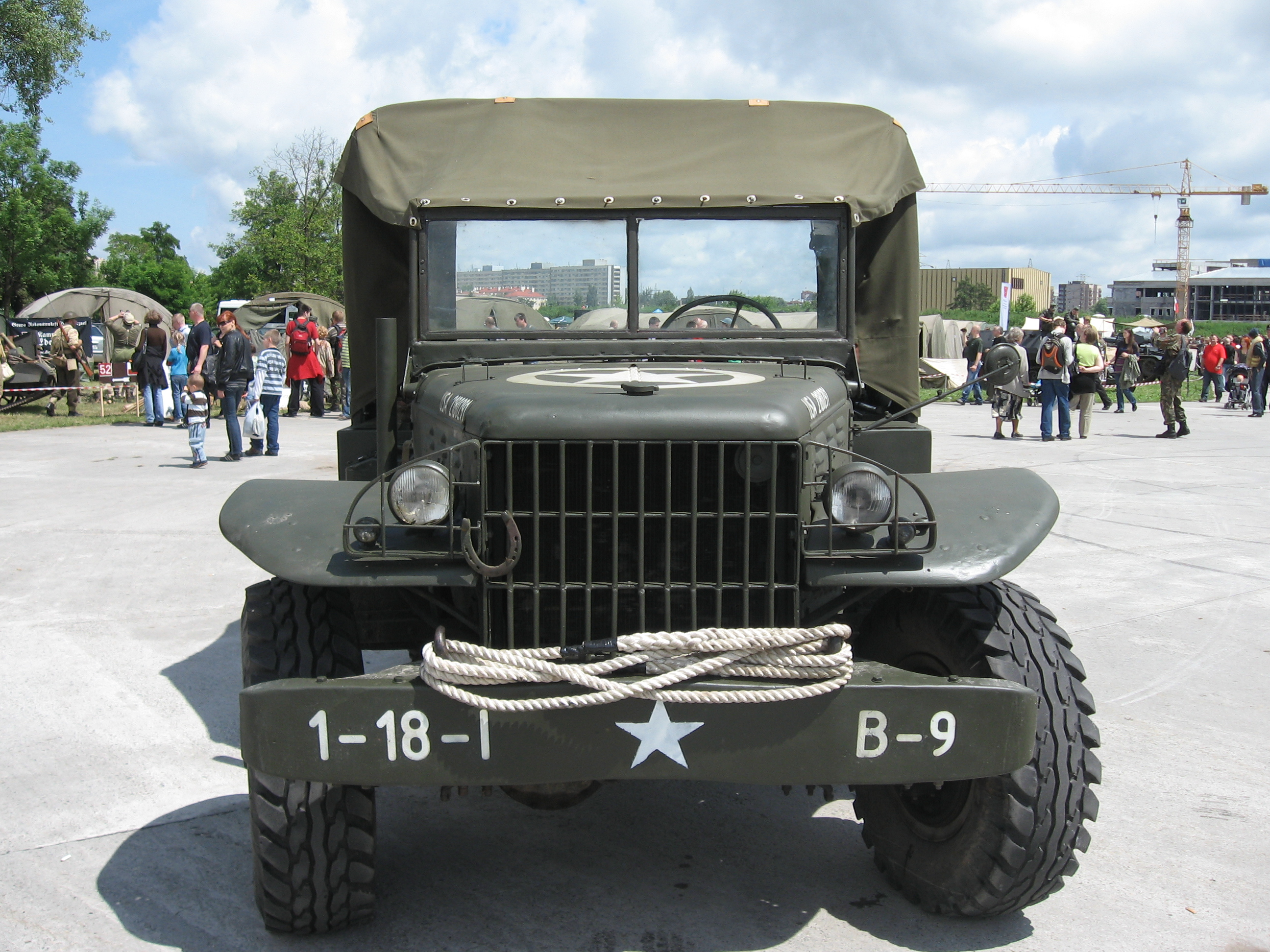 Build A Dodge >> File:Dodge WC-51 during the VII Aircraft Picnic in Kraków ...