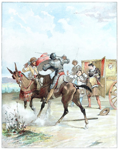 Fight Scenes Are Like Learning A Dance You Learn It Move: File:Don Quichotte Illustration