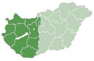 magyarország dunántúl térkép File:Dunántúl térképe.png   Wikimedia Commons magyarország dunántúl térkép