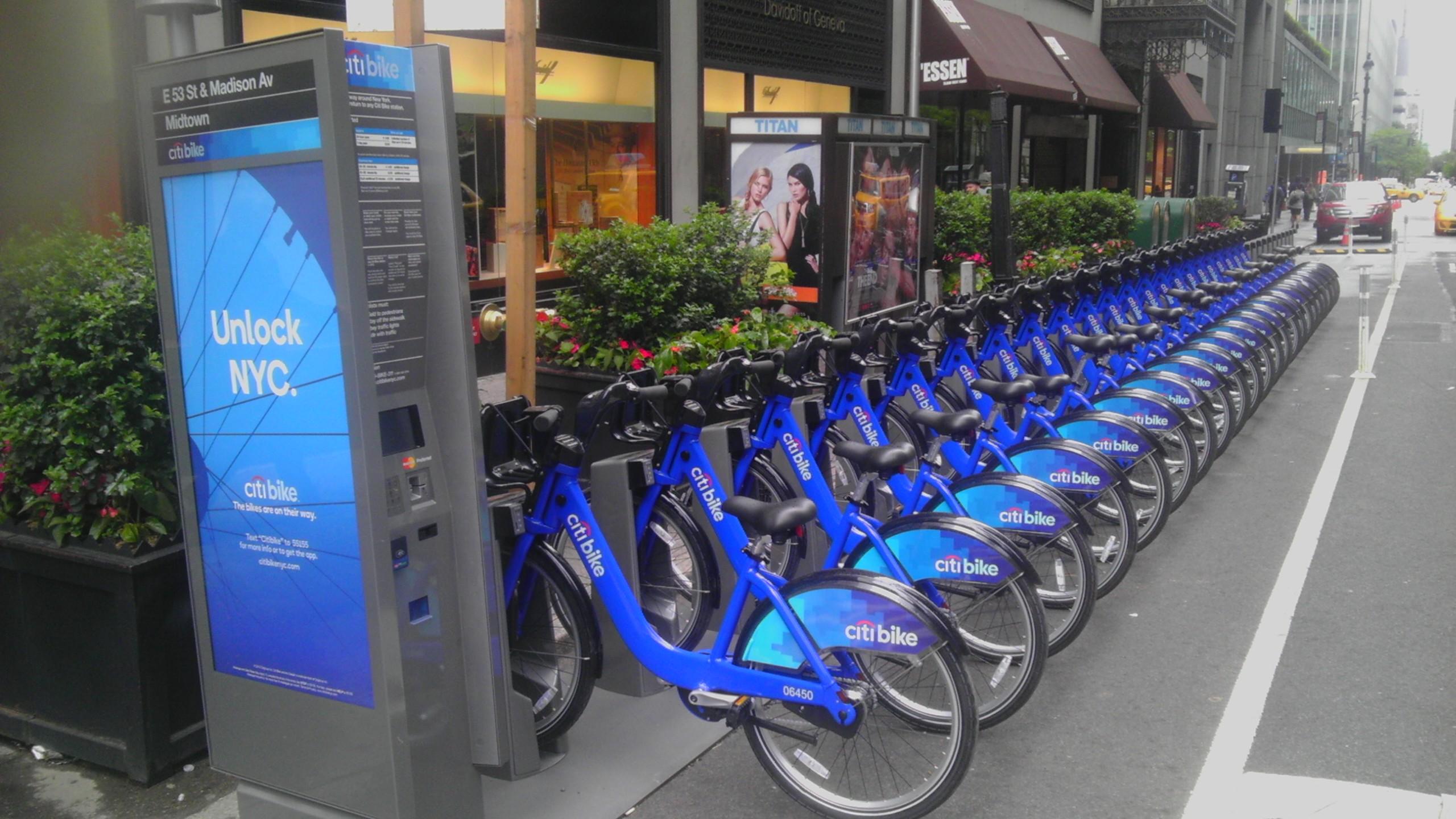 Bikes In Nyc Rent Citi Bike opened in New York