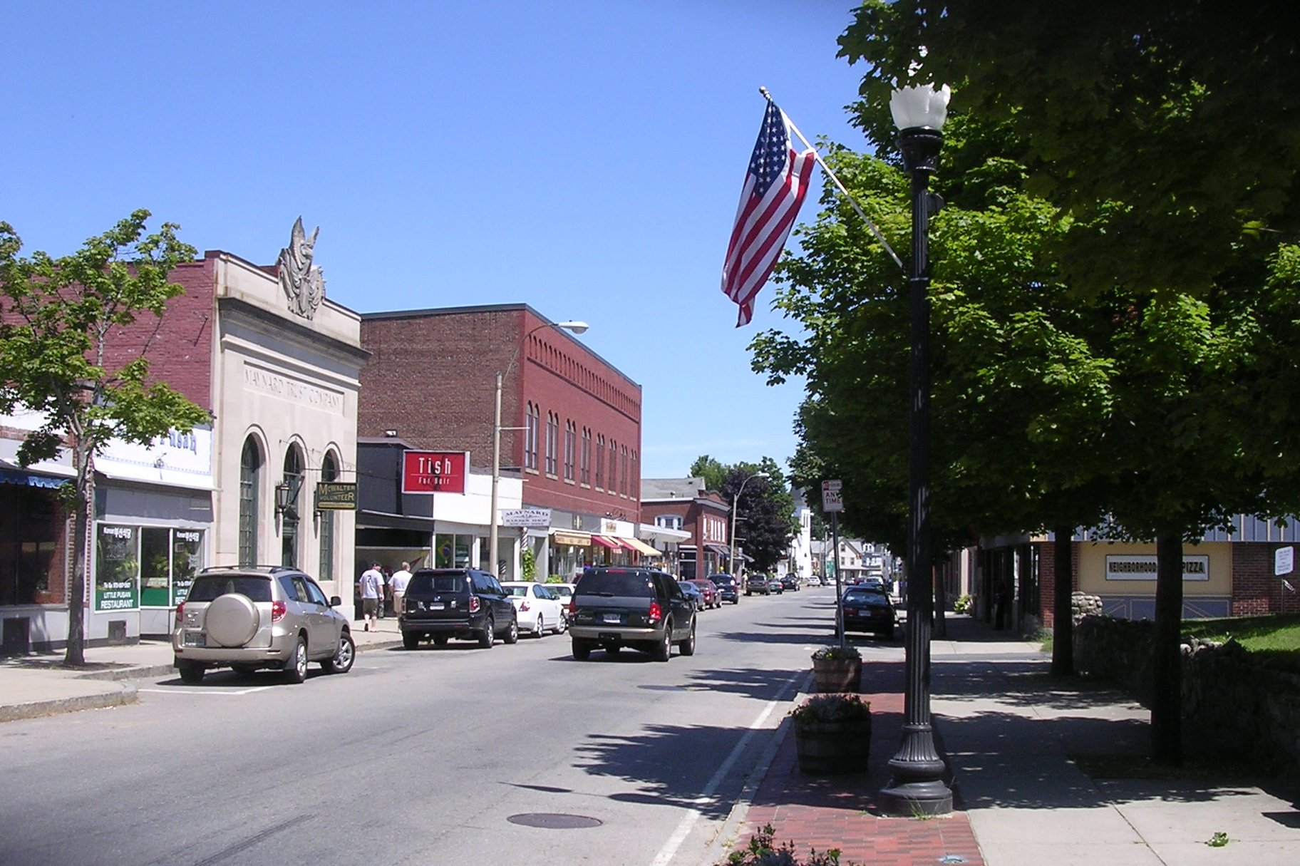 Maynard MA Downtown