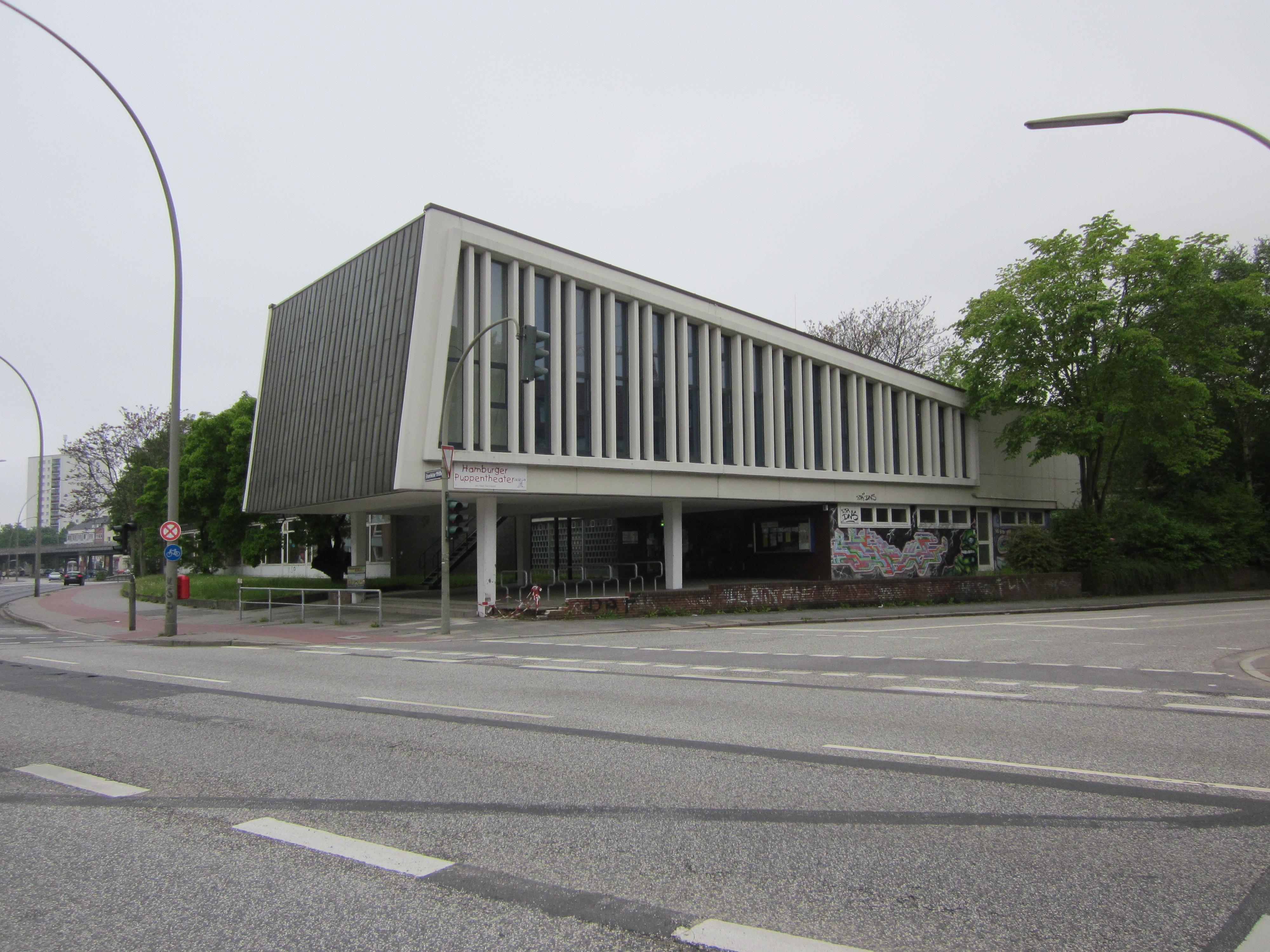 Datei:Ehemaliges Haus der Jugend Flachsland in Hamburg-Barmbek-Süd ...
