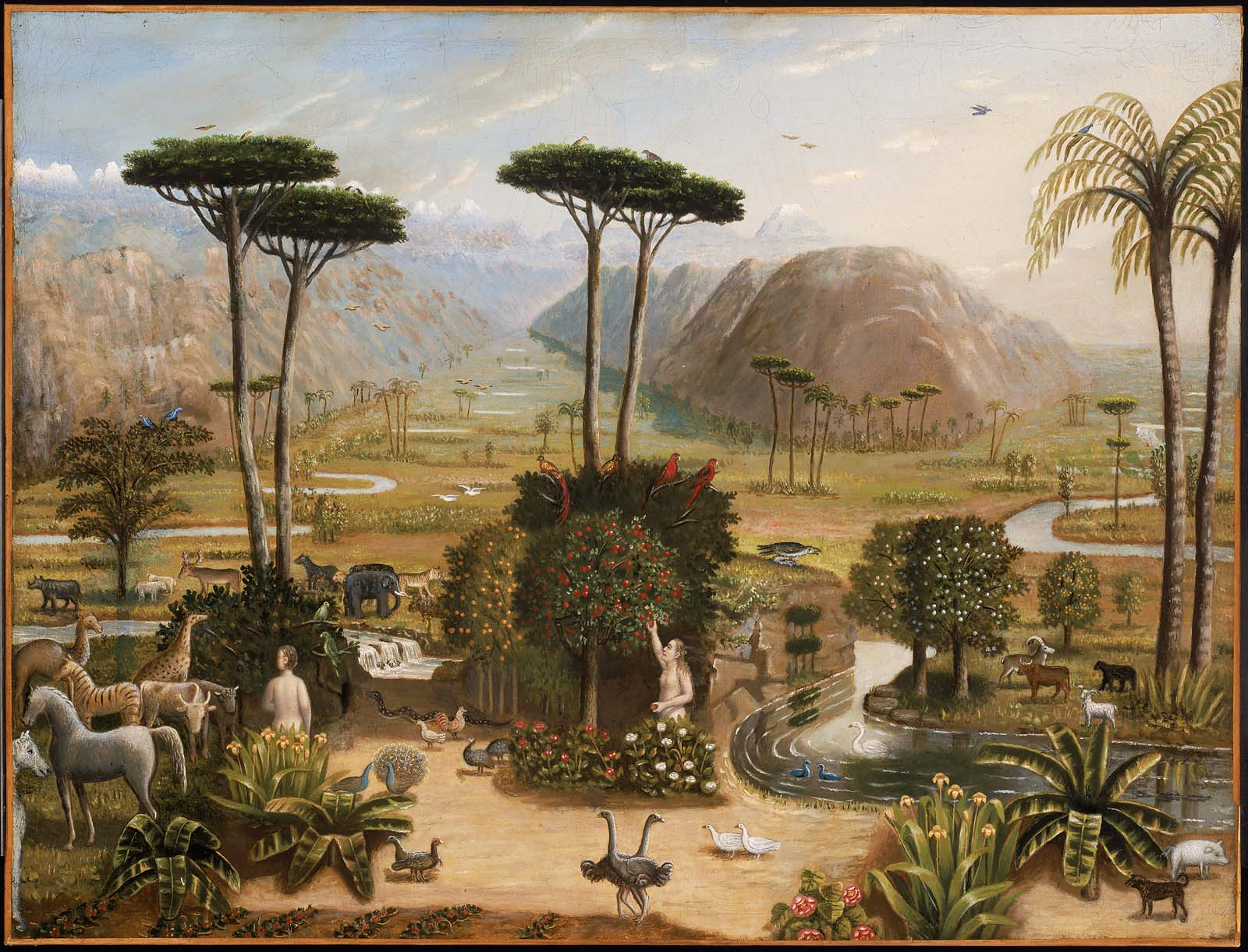 Datei Erastus Salisbury Field The Garden Of Eden Jpg Wikipedia