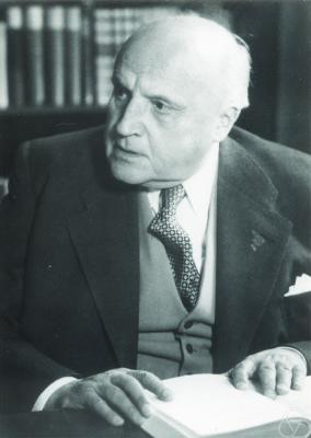 Erhard Schmidt (courtesy MFO)