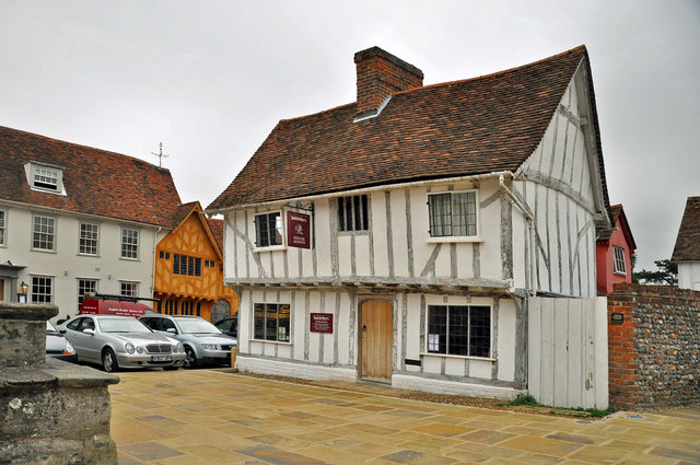Estate Agent's offices -Lavenham - geograph.org.uk - 1545899