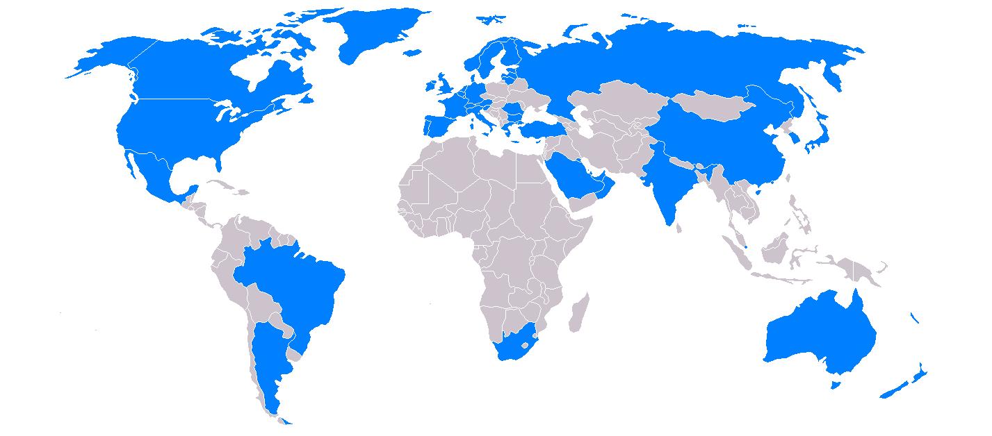 FATF GAFI map