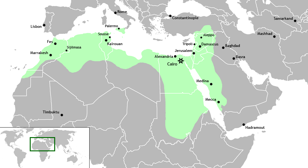Islamic Caliphate Map Islamic Caliphate Png