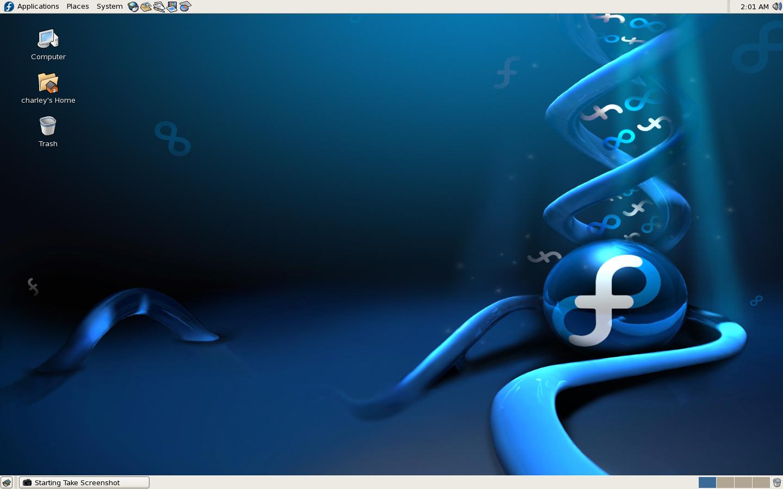 Disciplina - Sistemas Operacionais - Windows / Linux - Encerrado - Página 2 Fedora_Core_6