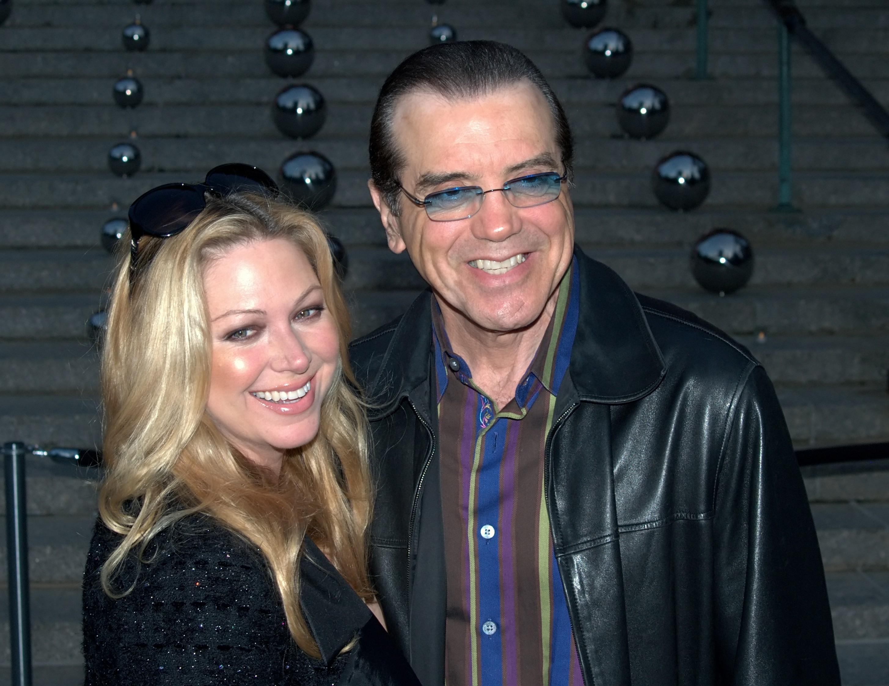 Chazz Palminteri with beautiful, sweet, Wife  Gianna Ranaudo