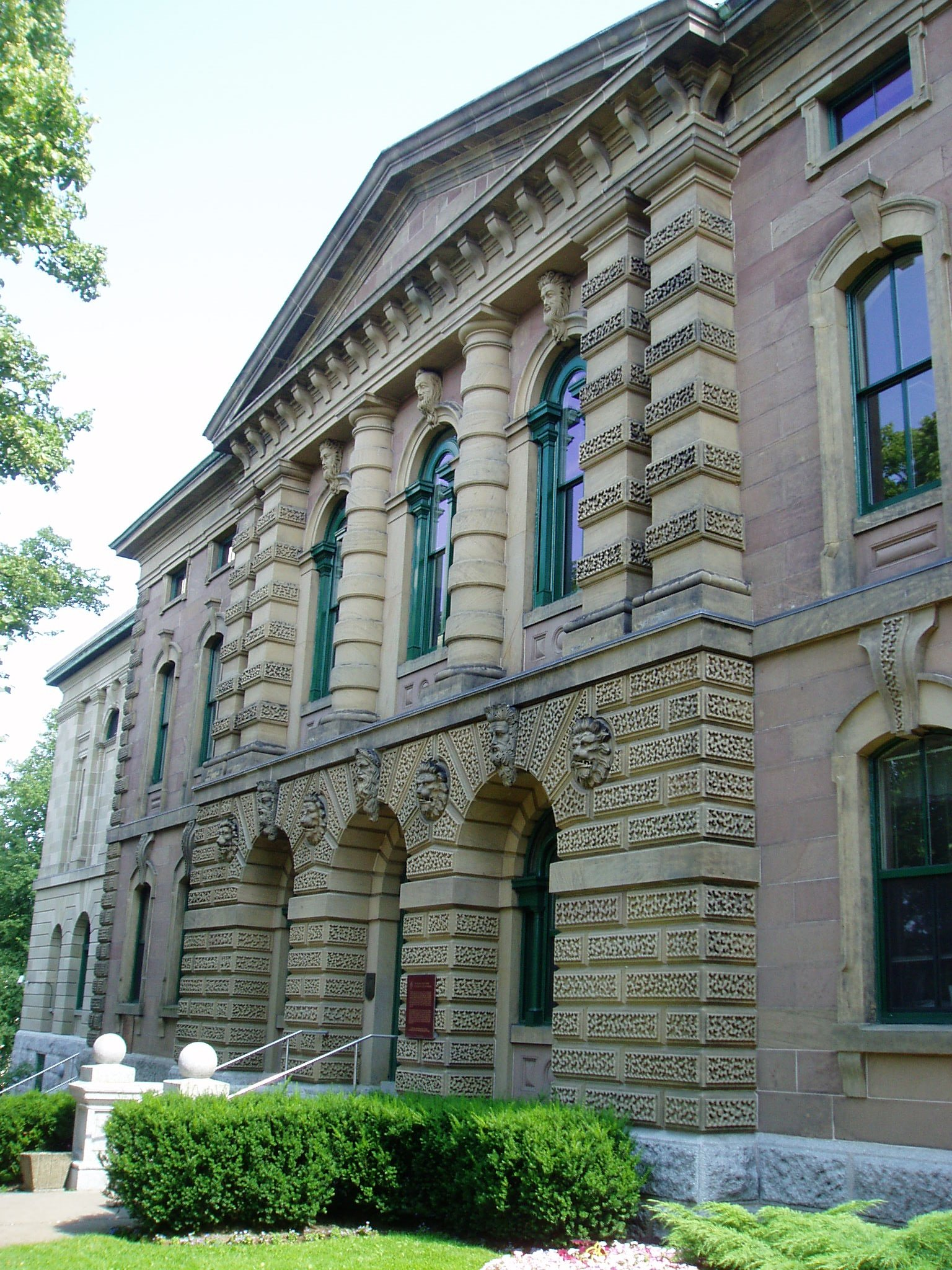 Haunted Destinations in Canada Old Halifax Court House