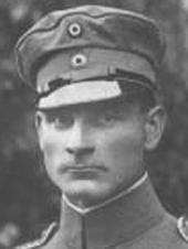 Hans Ritter von Adam World War I flying ace