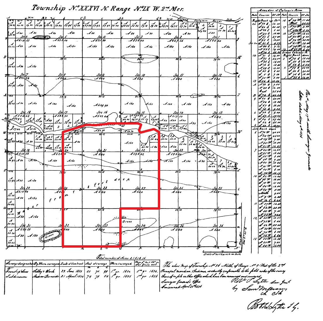 Indiana lake county highland - File Highland Lake County Indiana 1836 Png