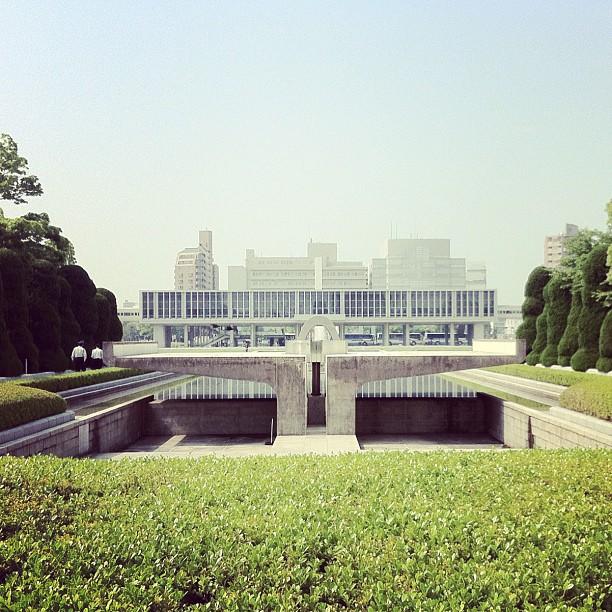File:Hiroshima Peace Memorial Museum. Kenzo Tange, 1955 ...
