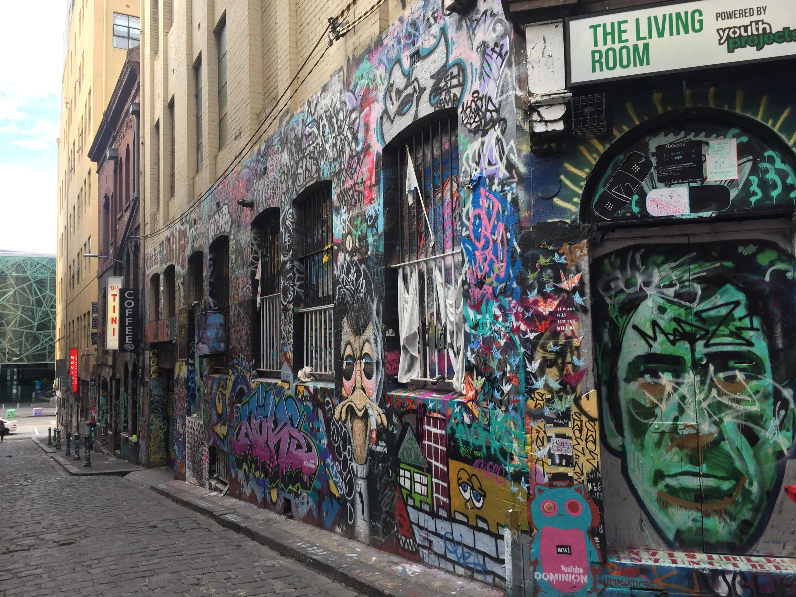Hosier Lane, Melbourne - Wikipedia