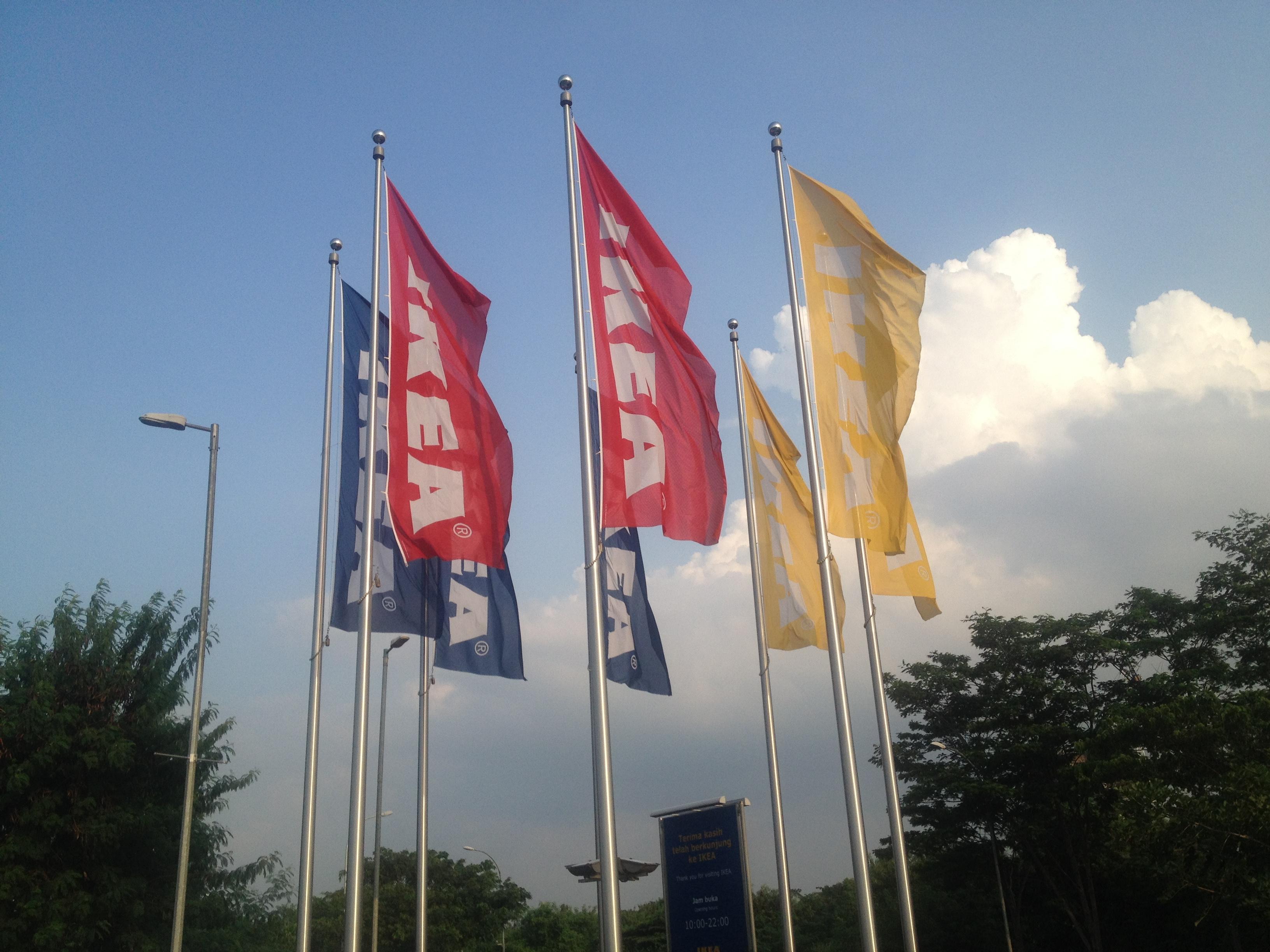 File IKEA Flags Alam Sutera Indonesia RT