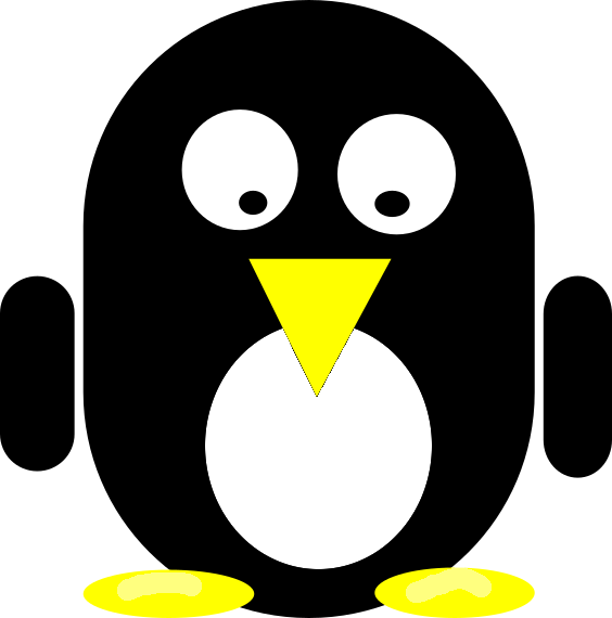 File:Inkscape Tux whiter feet.png