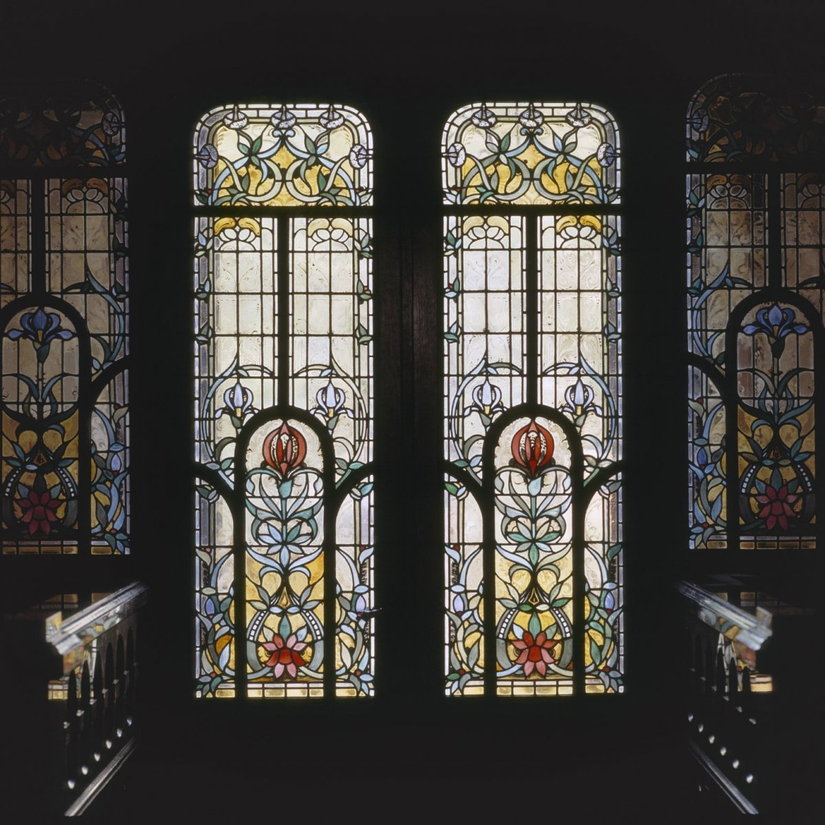 Bestand:Interieur, aanzicht glas-in-loodtochtdeur - Amsterdam ...