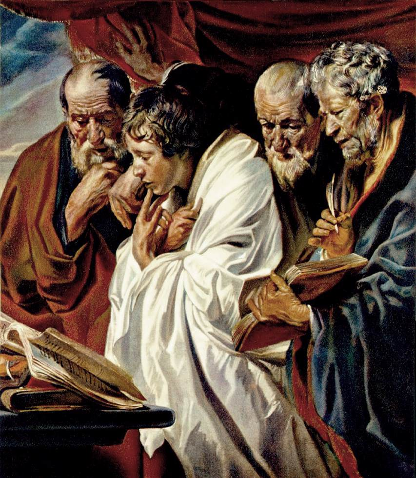 The Four Evangelists Painting Wikipedia