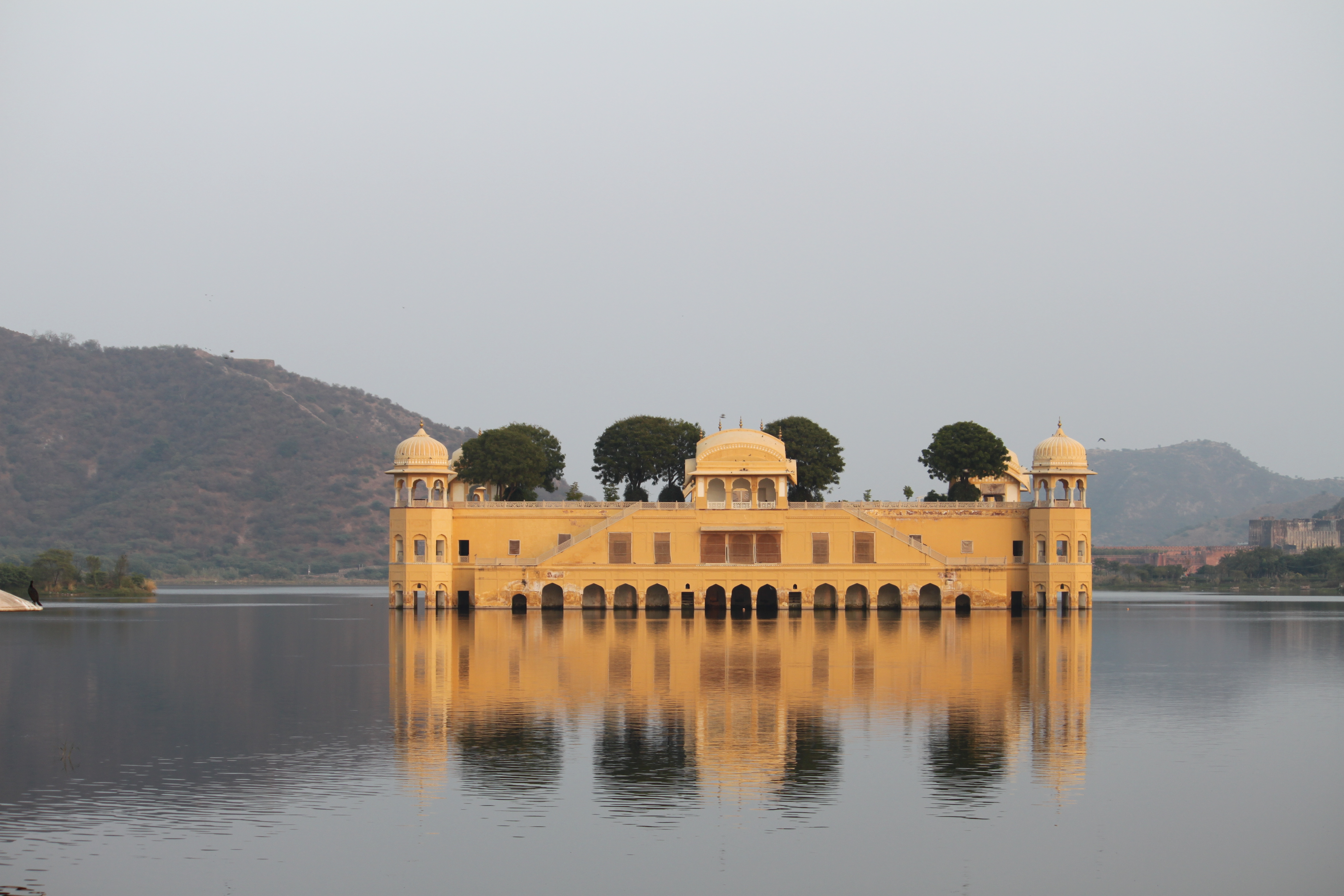 Jaipur India  city photos gallery : Jal Mahal Jaipur India Wikimedia Commons