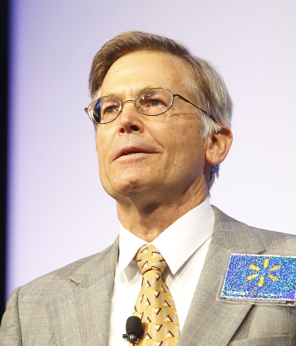 Jim Walton earned a  million dollar salary, leaving the net worth at 39100 million in 2017