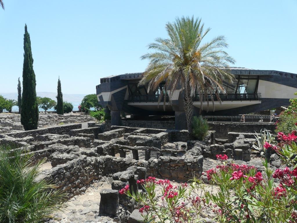 Iglesia de San Pedro (Cafarnaúm) - Wikipedia, la enciclopedia libre