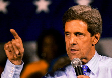 John Kerry, photo credit Thomas True from Wikimedia Commons