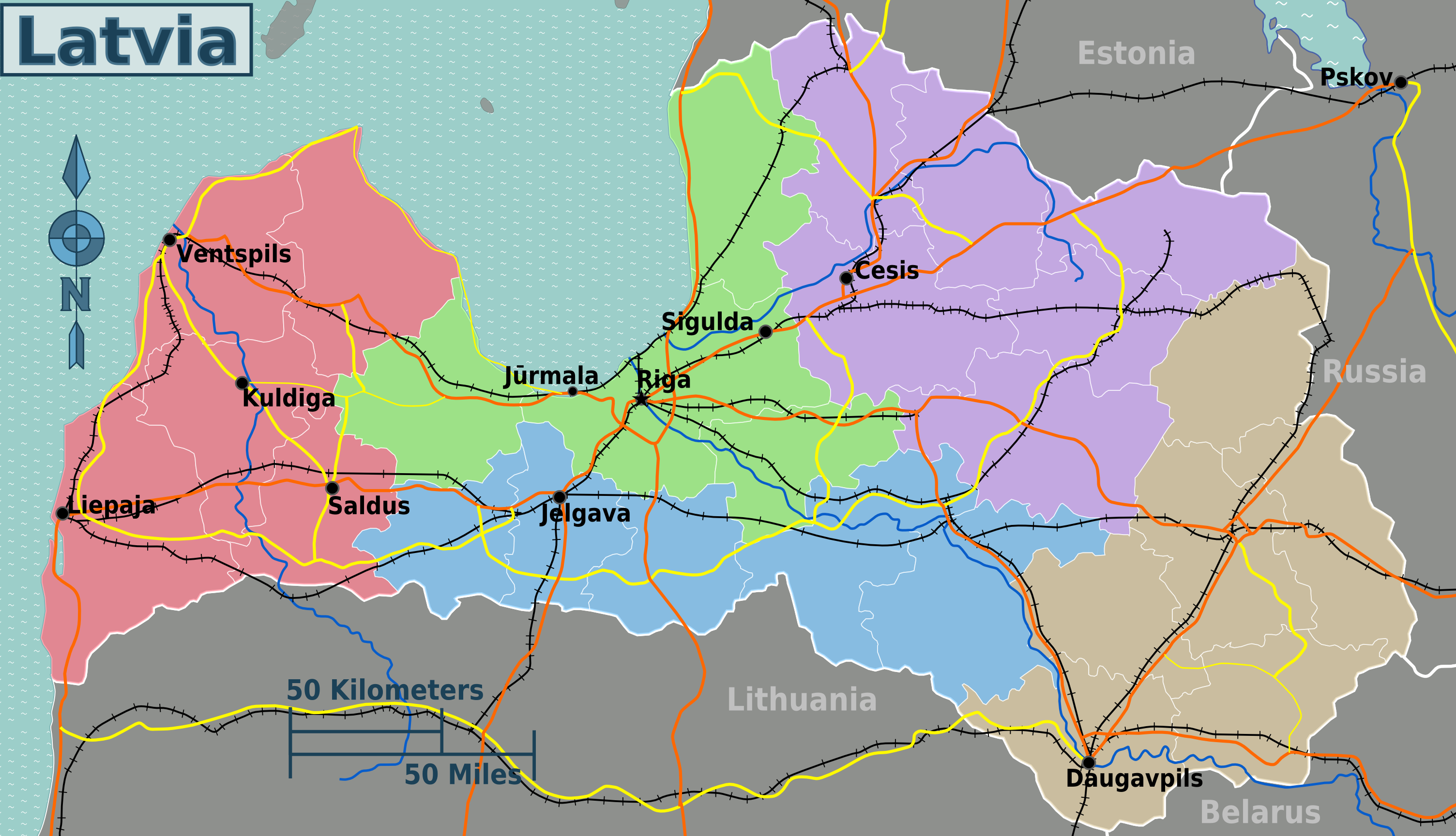FileLatvia regions mappng Wikimedia Commons