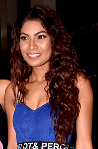 Lopamudra Raut at Ed Sheerans concert in Mumbai.jpg