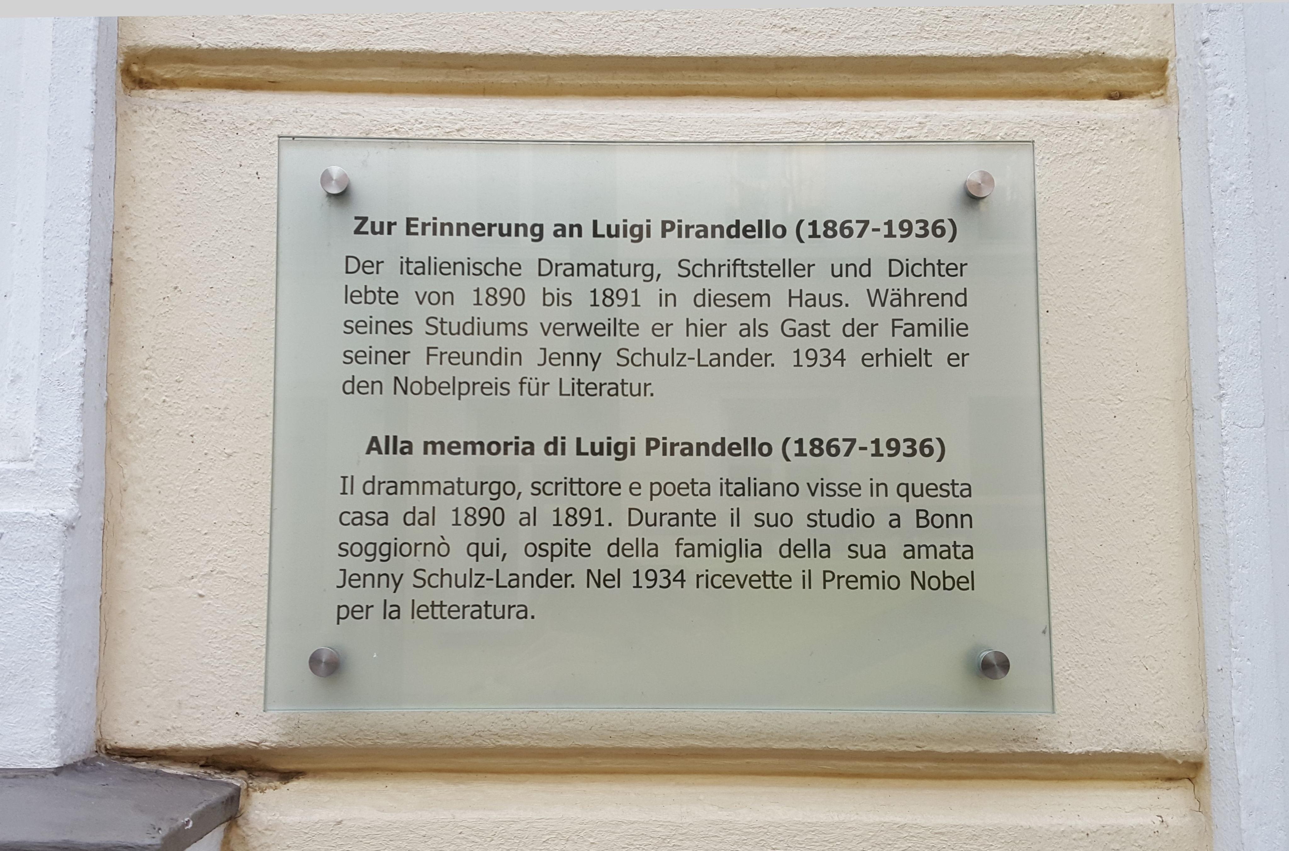 Luigi Pirandello - Wikiwand