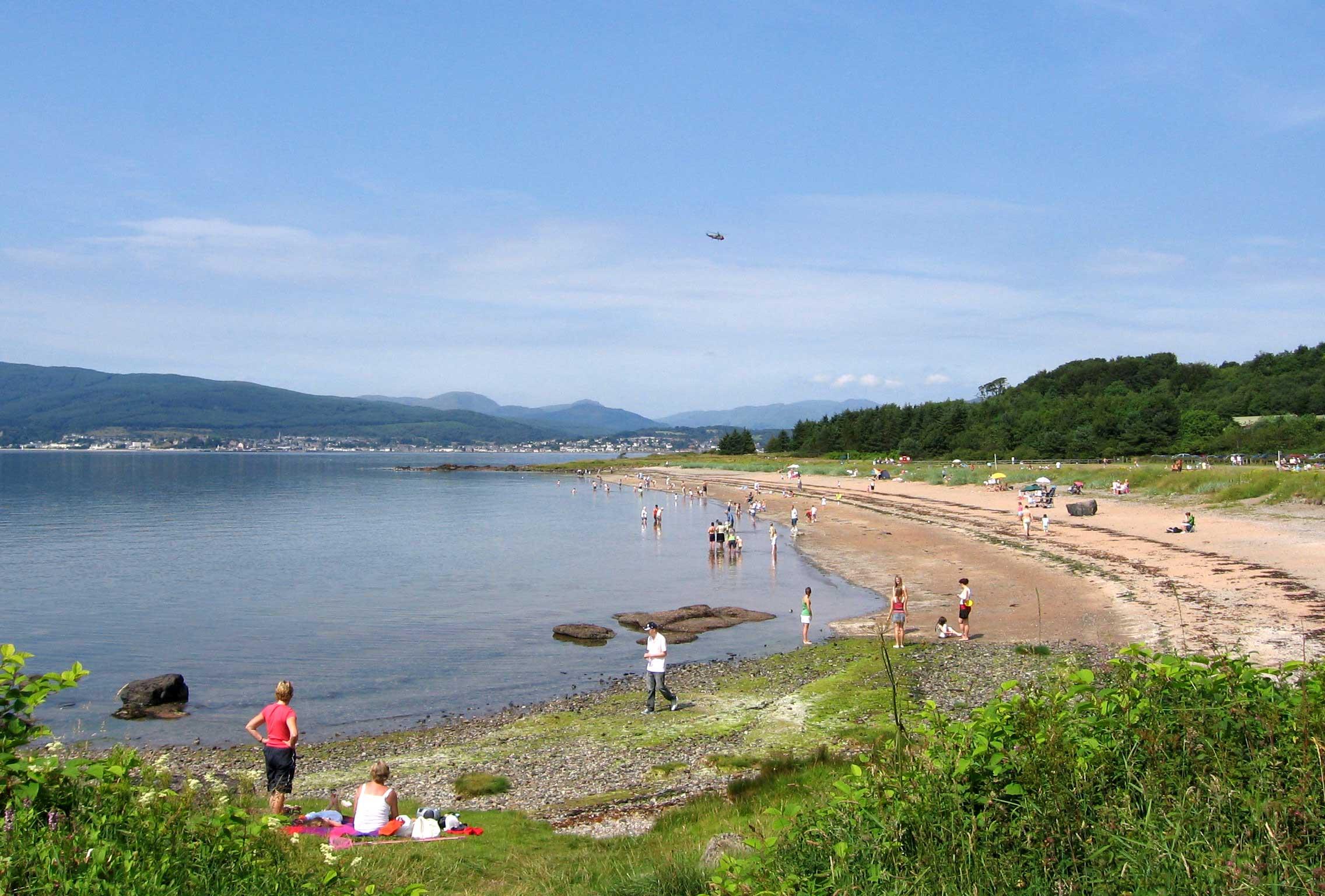 Lunderston Bay Beach