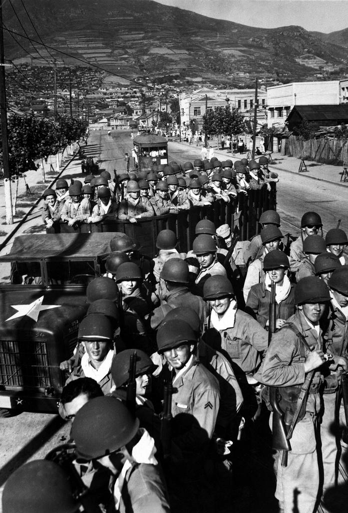 Desembarco estadounidense en Pusan