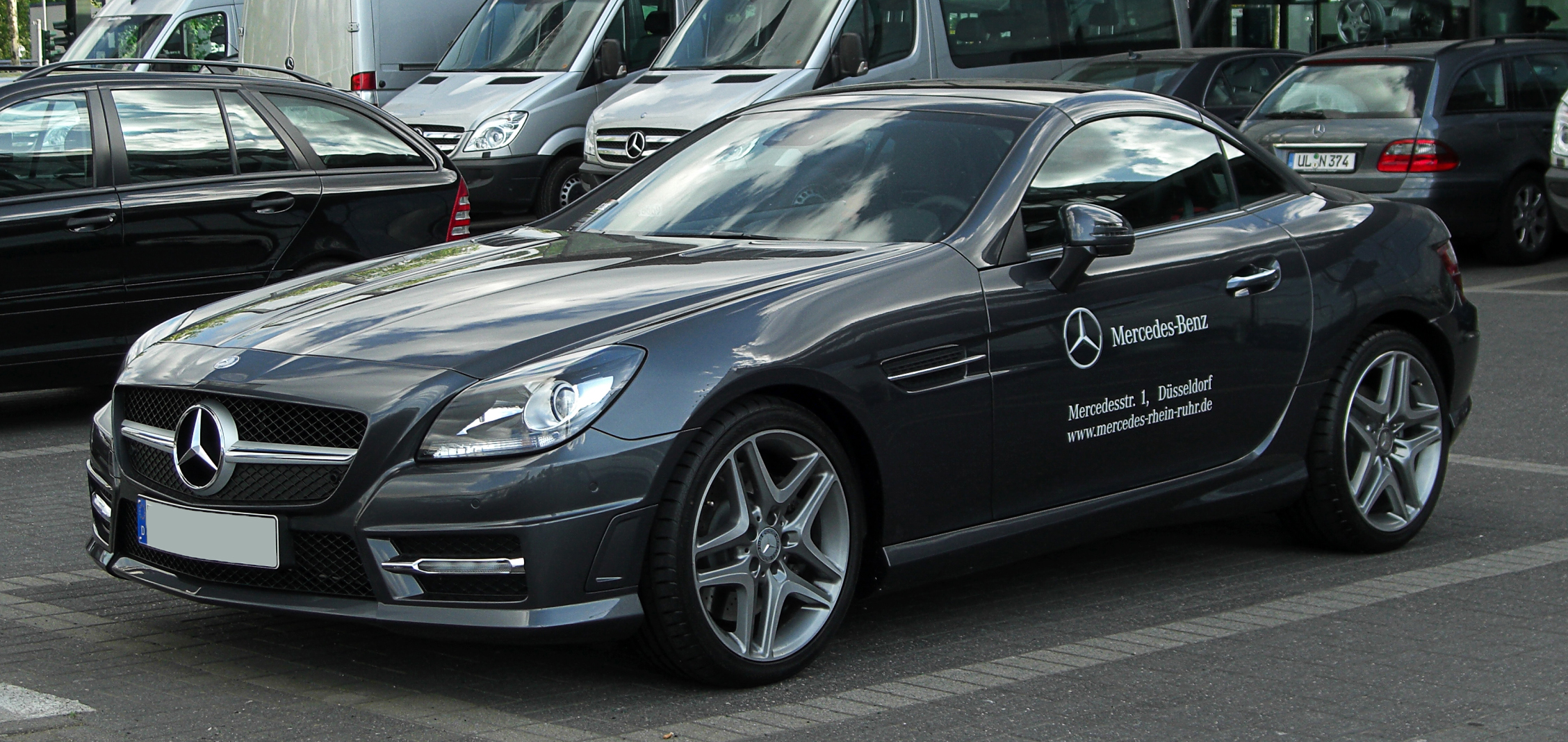 File mercedes benz slk 350 blueefficiency sport paket amg for Mercedes benz slk 350 amg