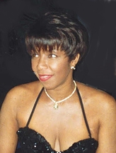 Singer Natalie Cole at the Governor's Ball aft...