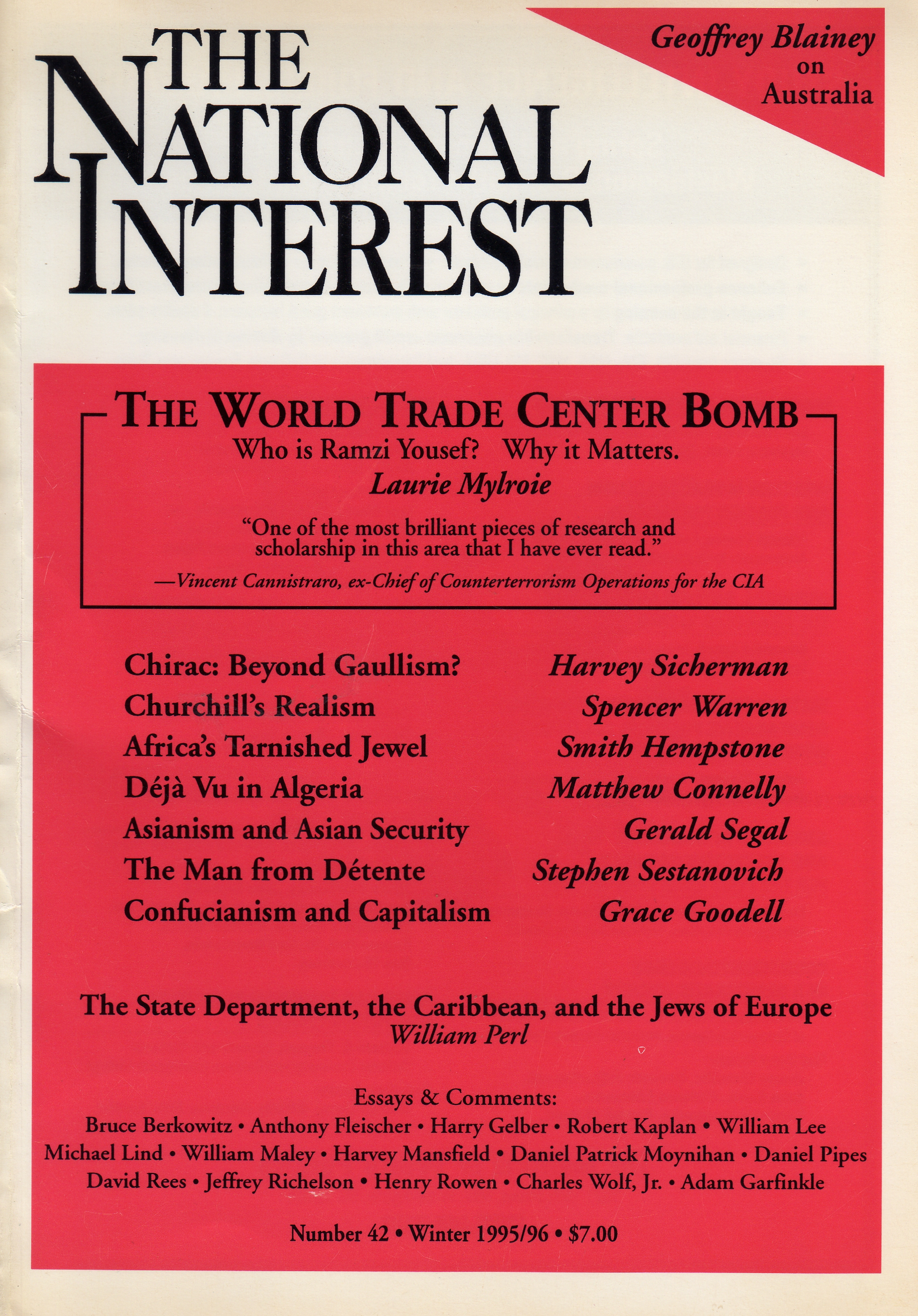 pursuit of national interest essay Rate perception of national interest and impeded the pursuit of nor- mal (and  preferably  the last of these brings us back to kennan's current essay what is.