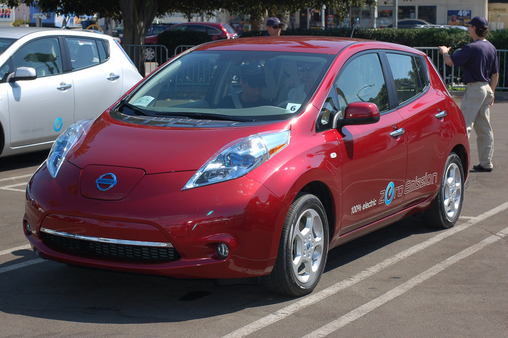 Nissan Electric Car Hull