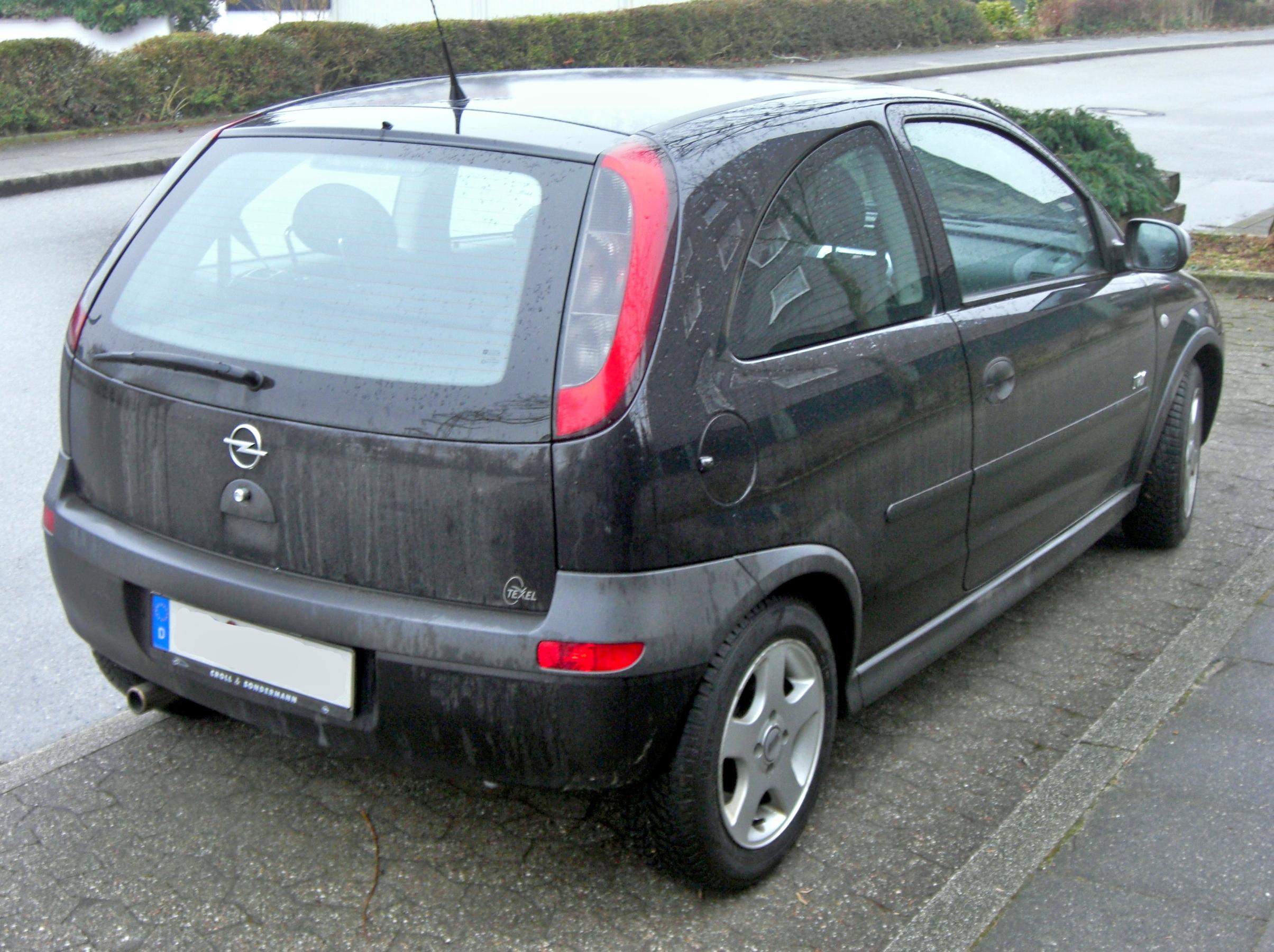 File Opel Corsa C Rear Jpg Wikimedia Commons