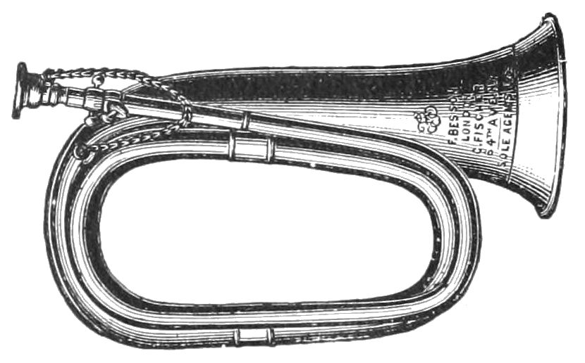 PSM V40 D822 Duty bugle the precursor of the coronet.jpg