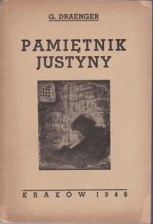 Cover of the original ''Pamientnik Justyny'' (1946)