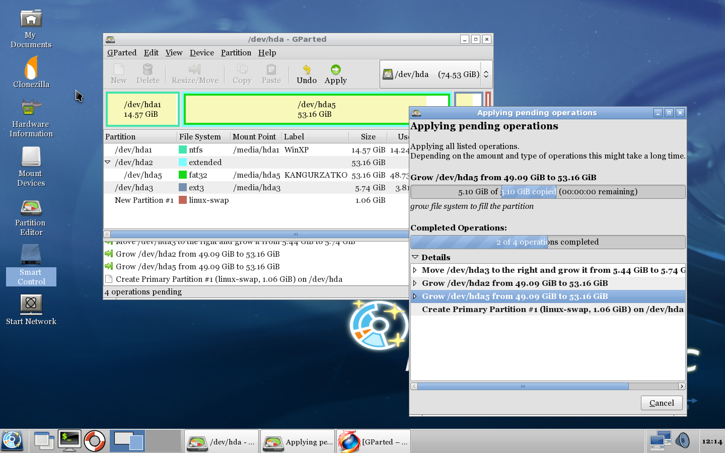 Parted magic 5.9 partition manager live cd